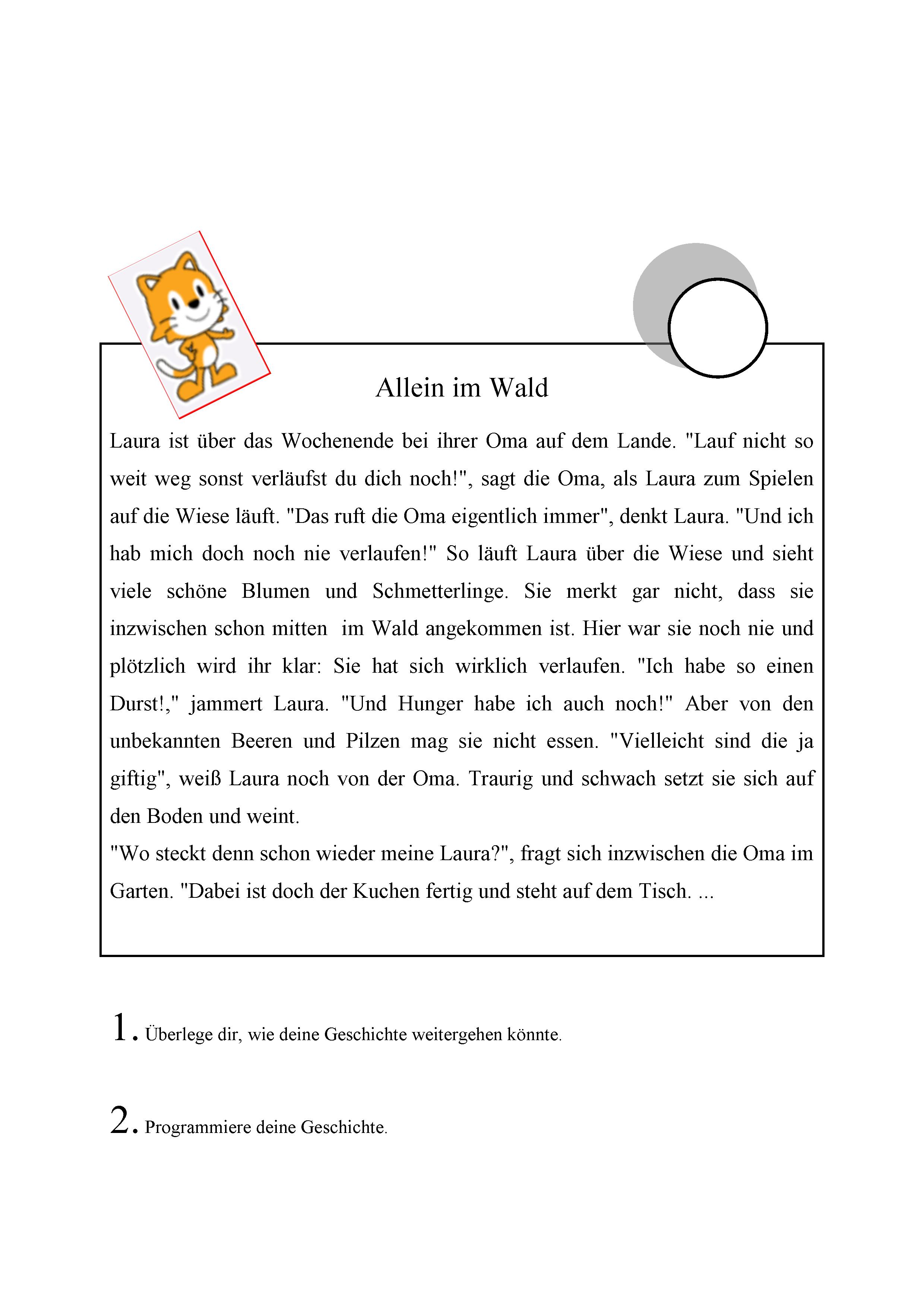 Meine Geschichte · C4C — code for competence